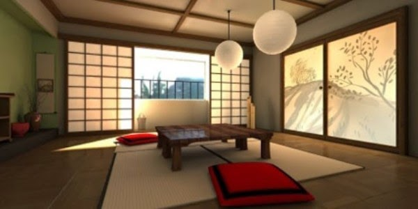 Designer furniture for Japanese tatami room design