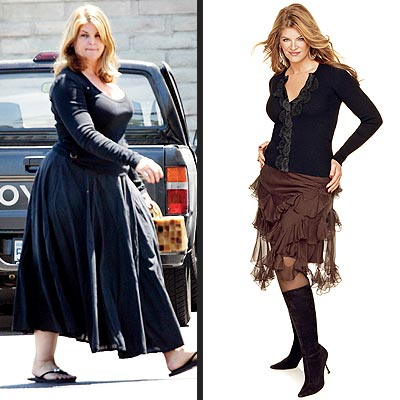 Kirstie Alley's dramatic weight loss
