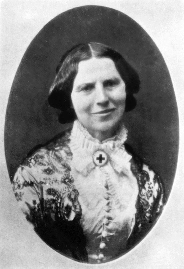 Clara Barton circa 1878