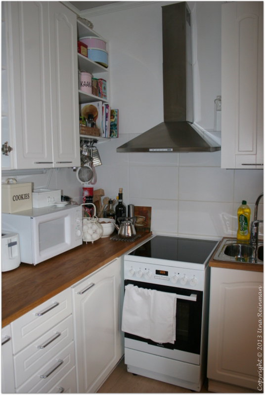 Hallatar  Operaatio keittiön kaappien pinnat