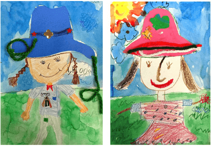 Book Review: Mr. Zinger's Hat. Drawing your own hat