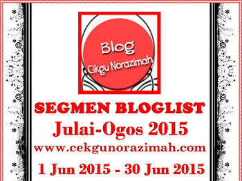 Segmen Bloglist Julai-Ogos 2015 by CN
