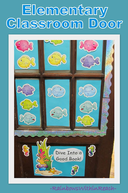 photo of: Classroom Door Decoration: Dive Into a Good Book