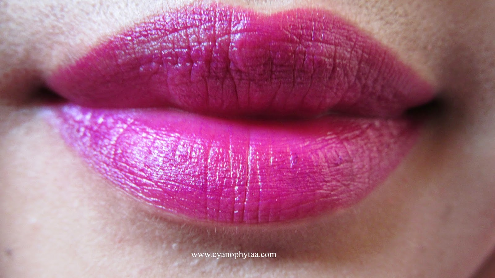 Review: NYX Matte Lipstick Aria - Cyanophyta's Beauty Diary