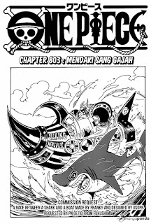 Cover One Piece chapter 803