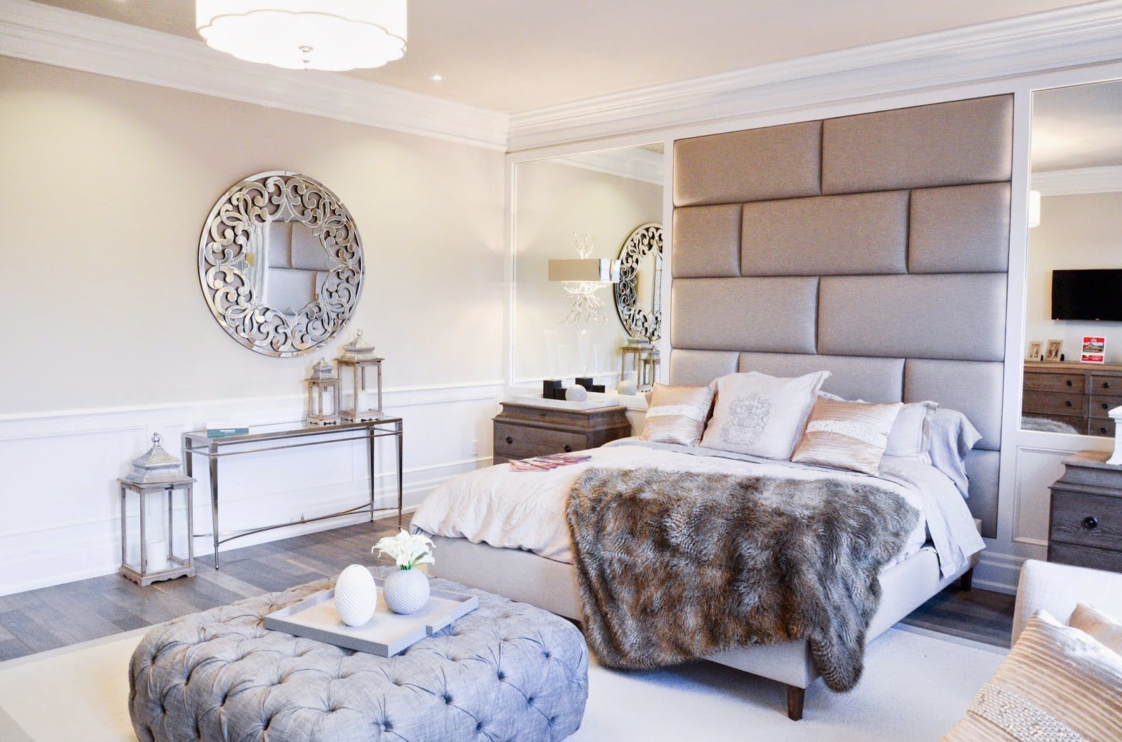 PMLOTTO KLEINBURG SHOWROOM: GLAMOROUS MASTER BEDROOM