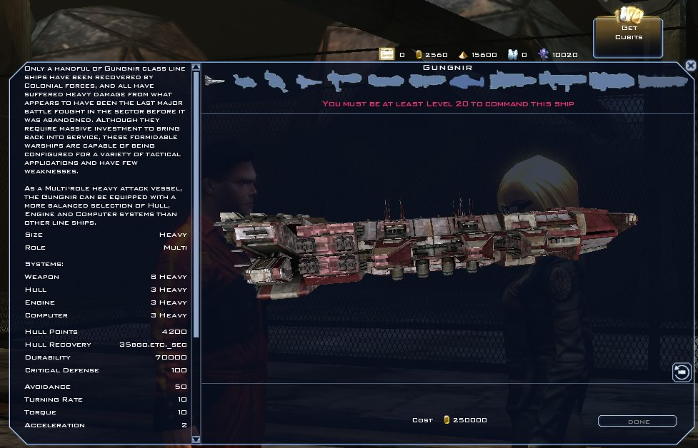 Battlestar Galactica Online - Gungnir