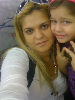 Eu  e  minha  filha..