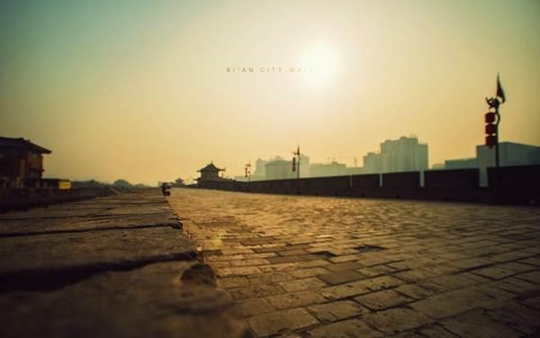 tembok-bandar-xi'an-china
