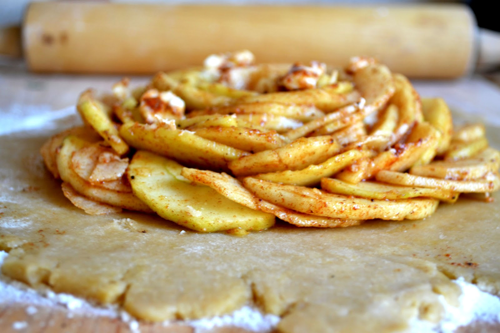 Heart of Gold: Rustic Apple Tart