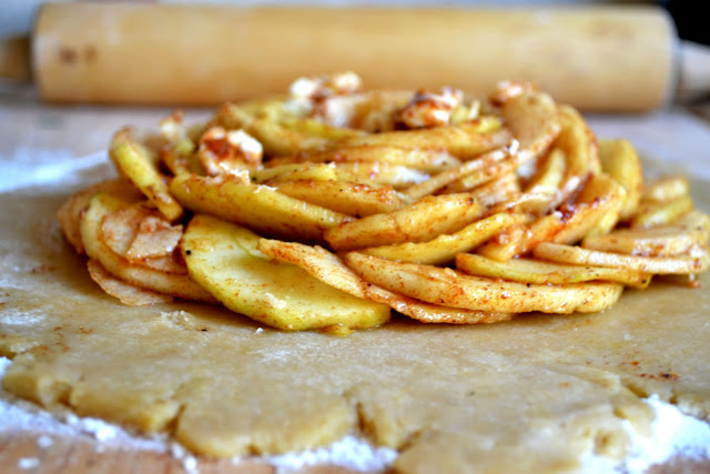 Heart of Gold: Rustic Apple Tart