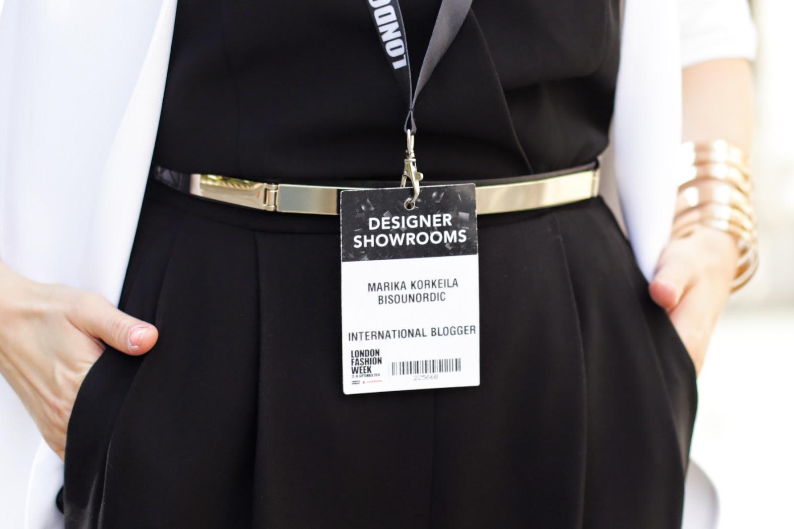 Bisou Nordic London Fashion Week