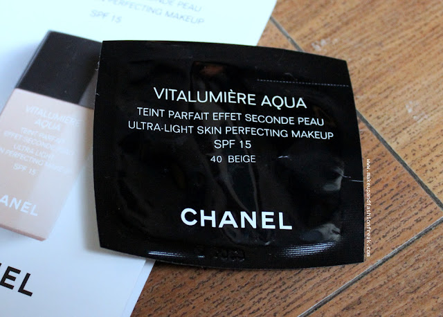 Chanel Vitalumiere Aqua Ultra-Light Skin Perfecting Makeup