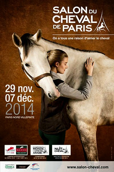 Percheron international a l 39 affiche bien - Salon du cheval 2014 paris ...