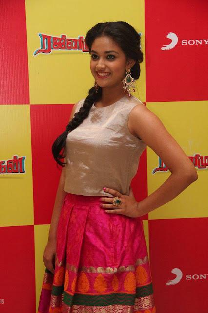 Keerthi Suresh Latest Photos At Rajini Murugan Audio Launch