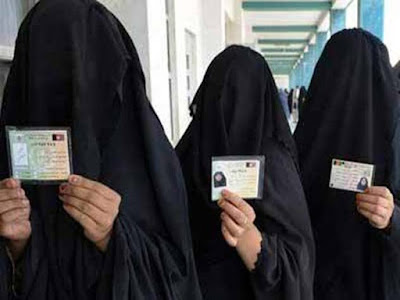 Women are registering in national  election in saudi arabia