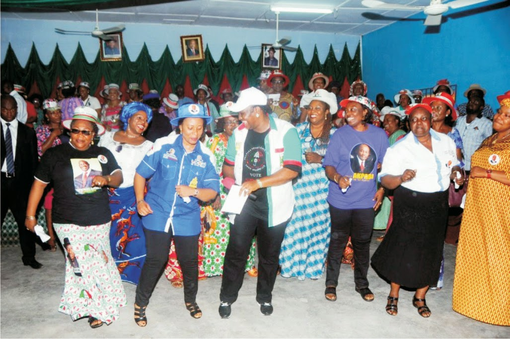 "More A'Ibom women assure Akpabio's wife, ""Our PVCs are intact for PDP"""