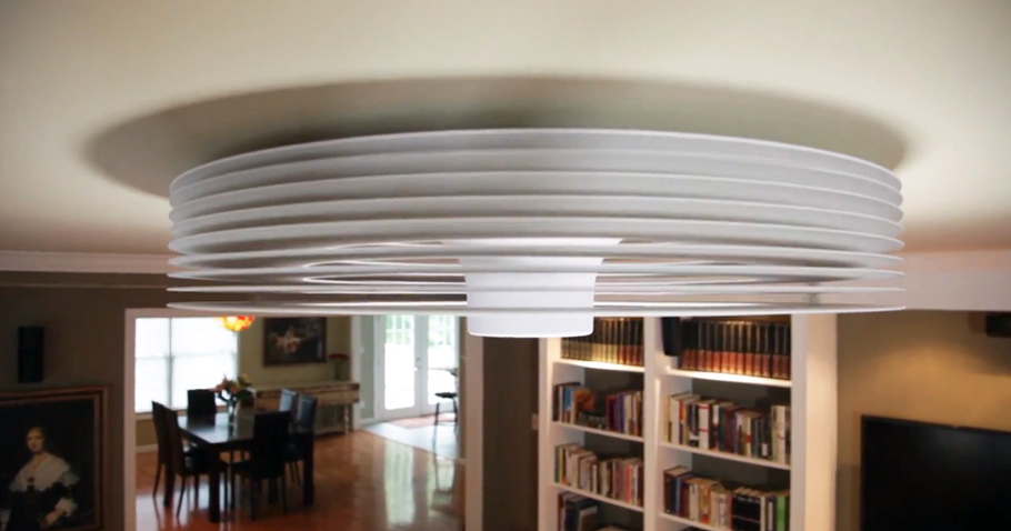 Futurix exhale fans il primo ventilatore a soffitto - Pale da soffitto design ...