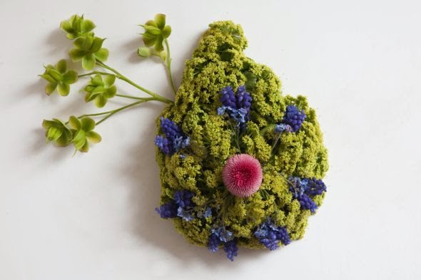 Camila Sitarama Carlow arranjos plantas flores órgãos humanos Seios