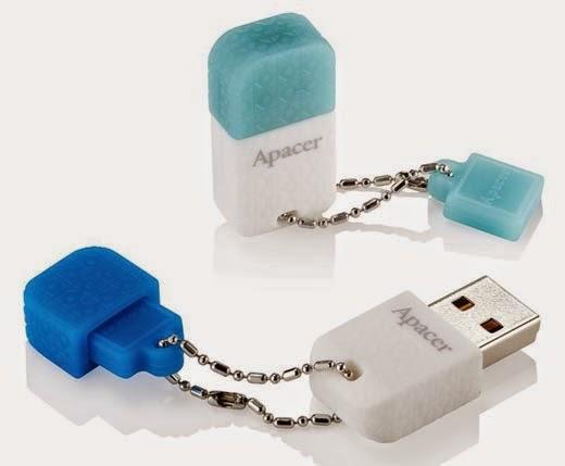 Apacer AH154 USB 3.0 and AH139 USB2.0 USB Flash Drives