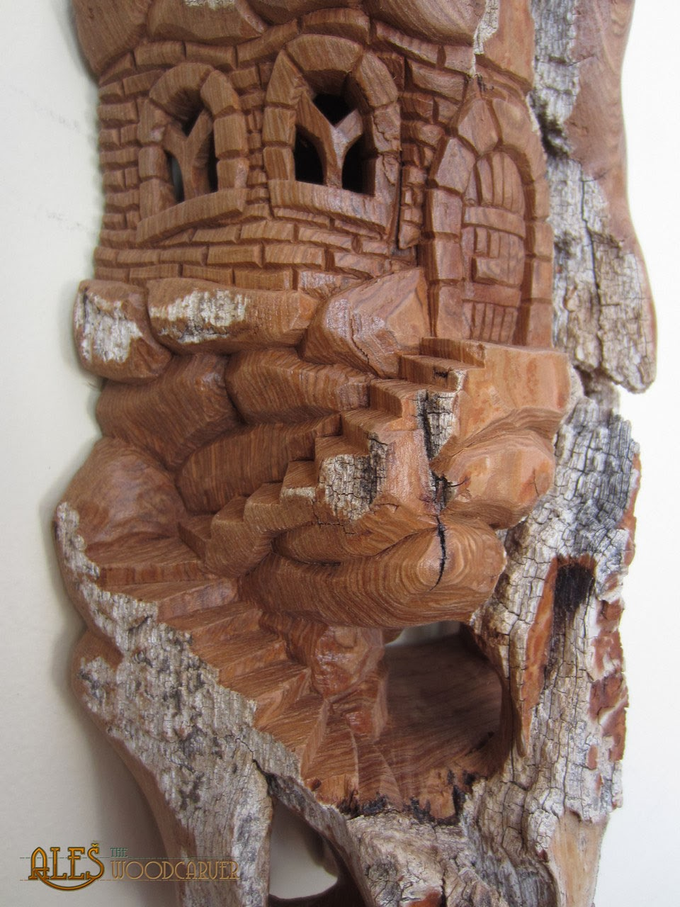 Ales the woodcarver unyielding castle