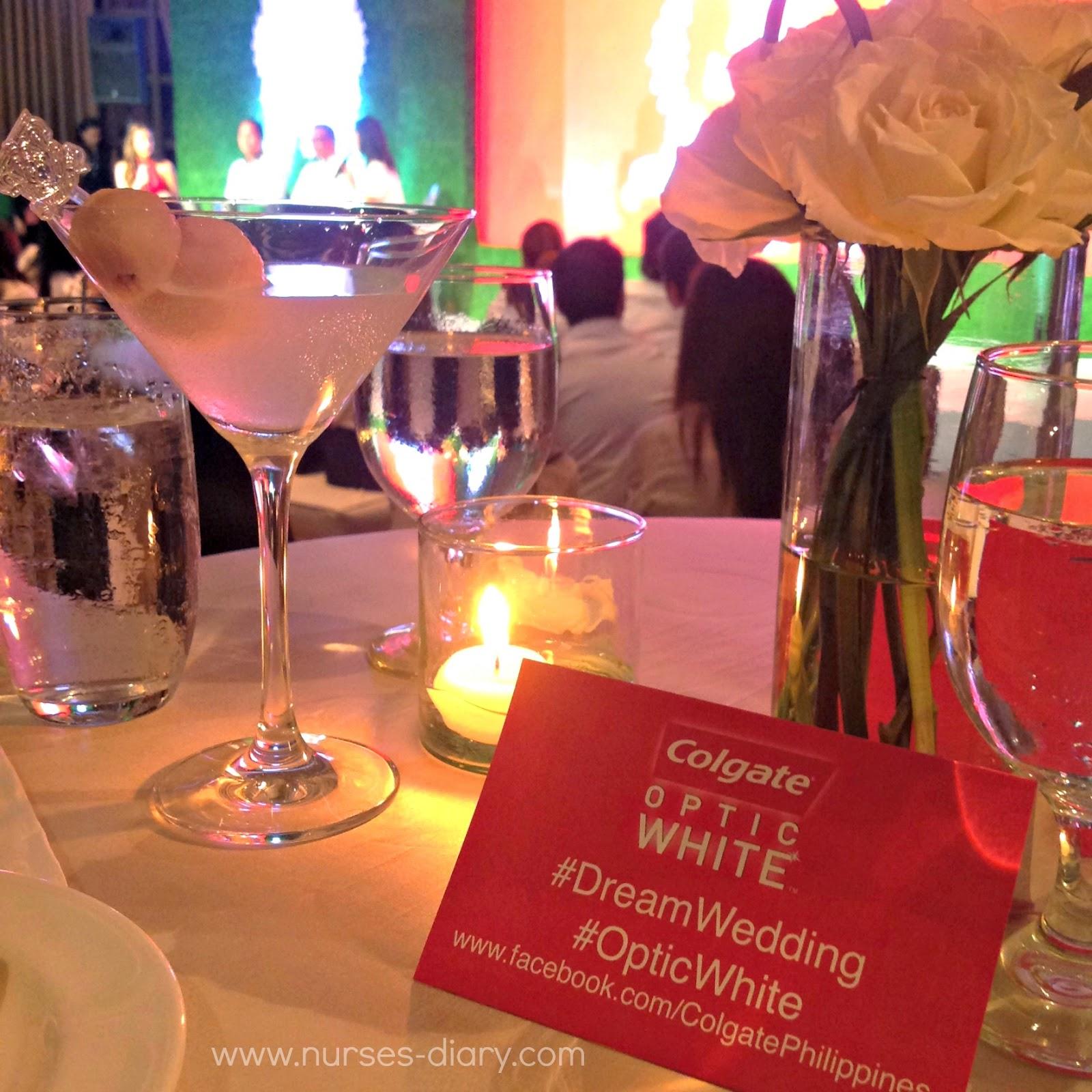 Colgate Optic White's Dream Wedding Launch