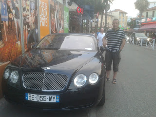 Bentley Juan les pins