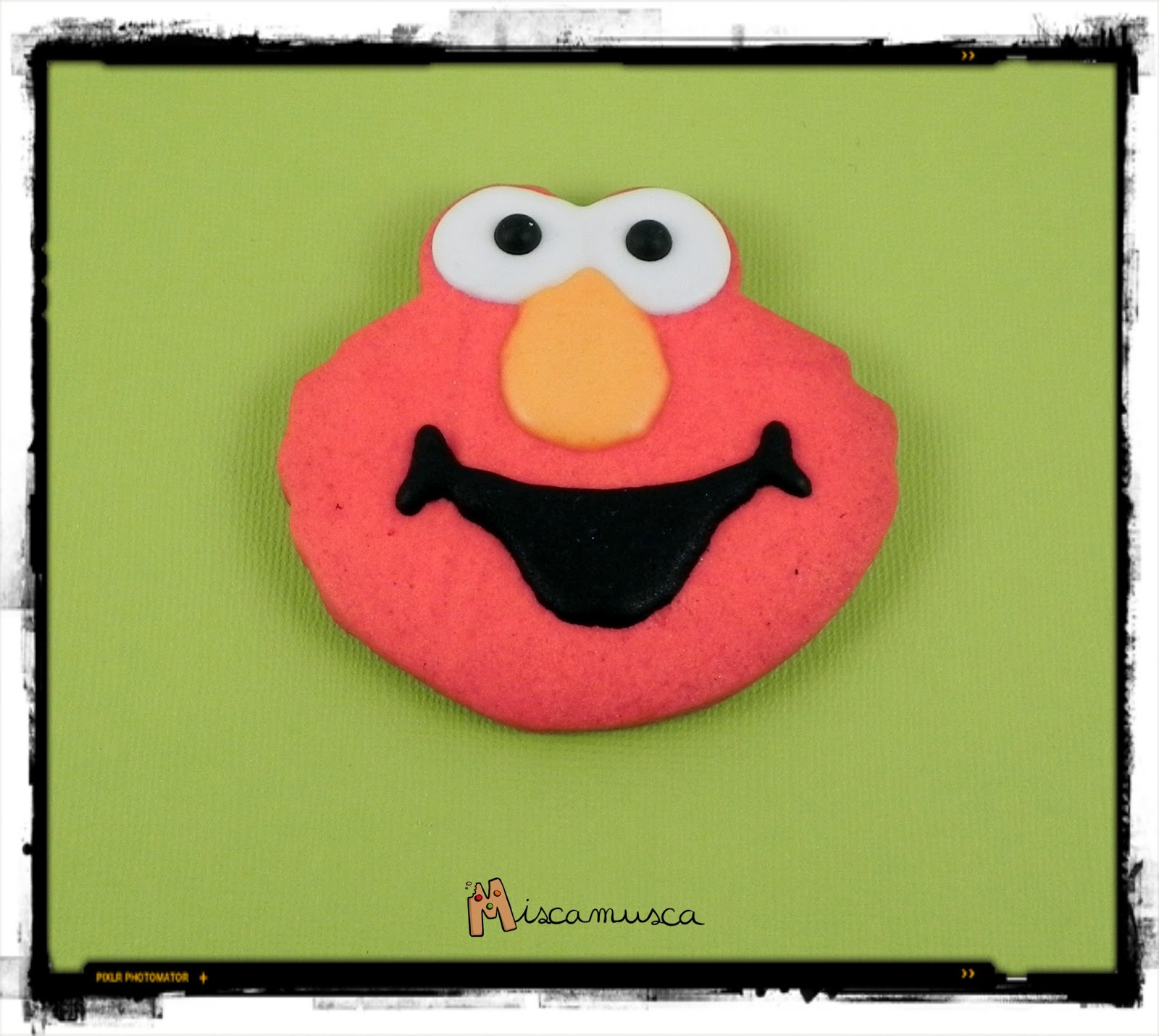 Galleta decorada Elmo