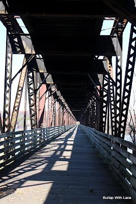 Old Railroad Bridge, Sheffield, AL