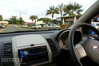 Driving in Norfolk Island