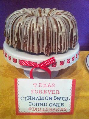 Cinnamon Swirl Bundt