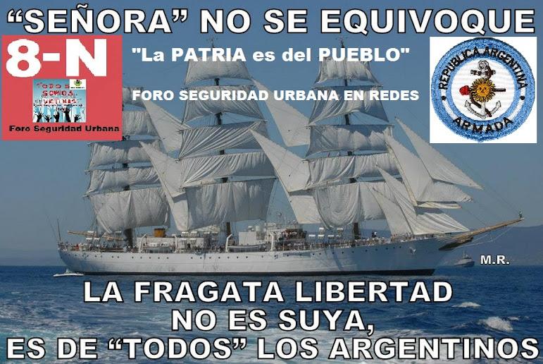 LA SOBERANÍA NO SE NEGOCIA Y SE DEFIENDE...!!!