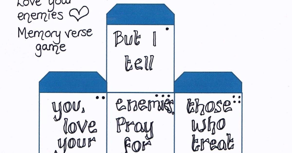 Matthew 5 44 Love Your Enemies