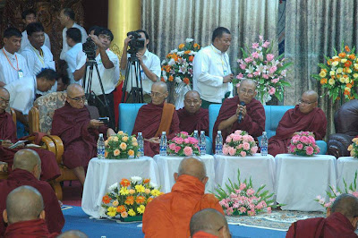 Insein Monks Conference – Brief Explanation on the need of Myoe Zaunt Draft