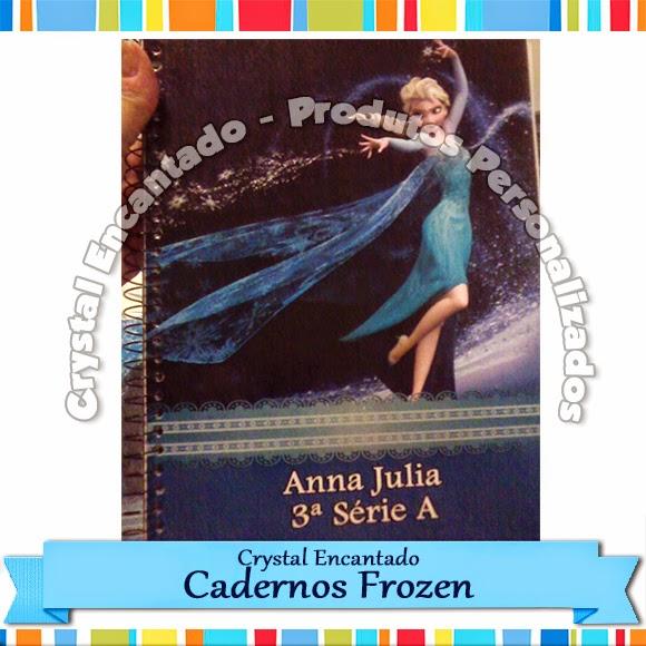 Caderno Frozen