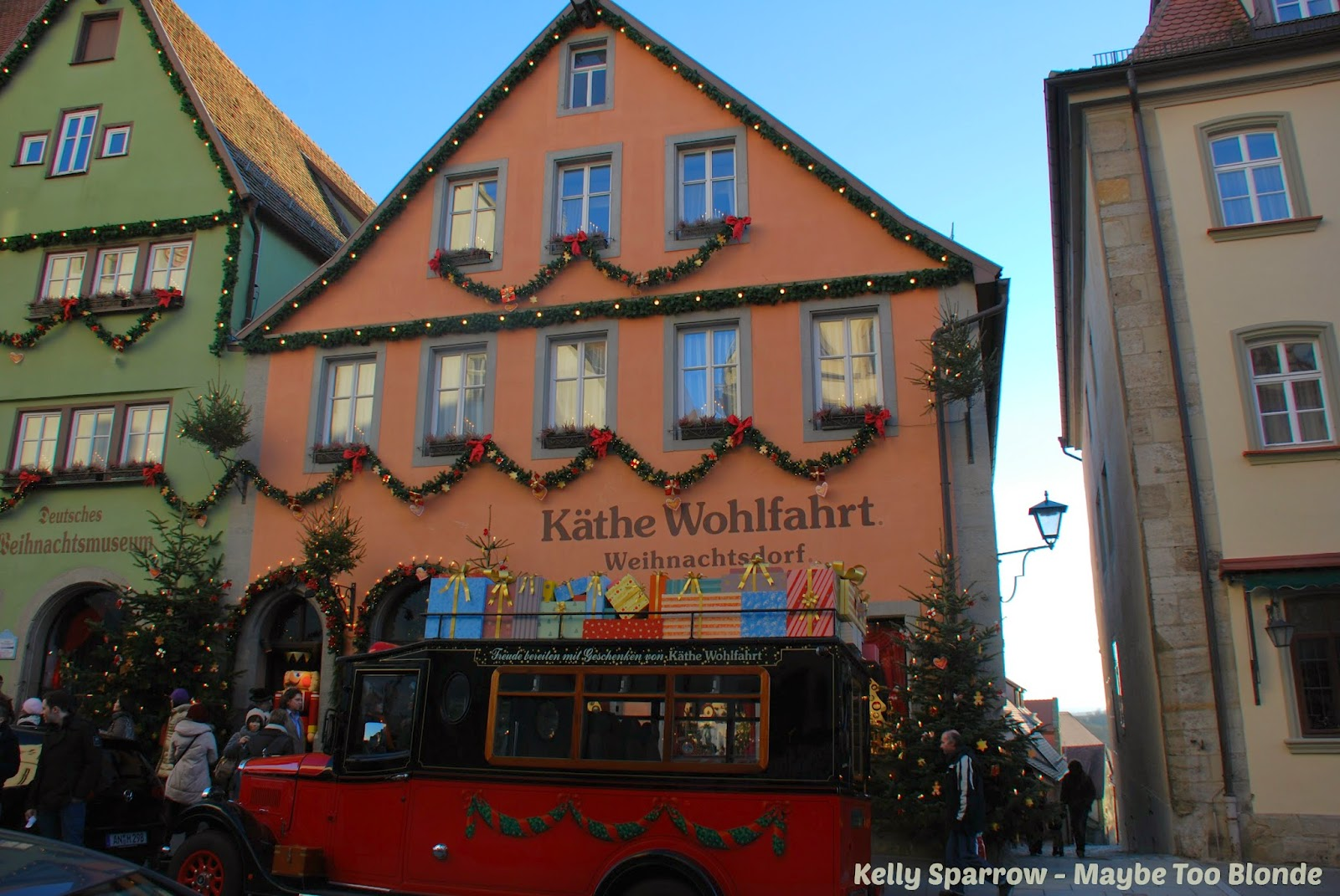 Rothenburg ob der Tauber at Christmas