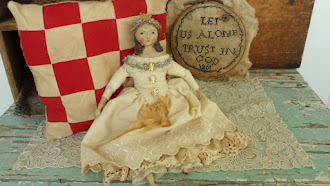 A Nicole Sayre Original Doll - Hand Made - available -