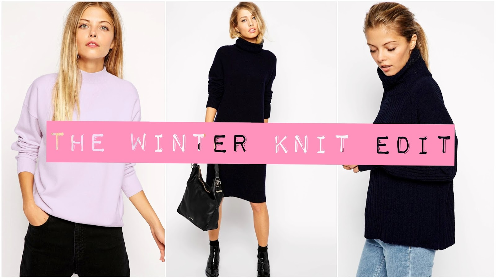 winter and autumn asos jumpers and sweats and knits