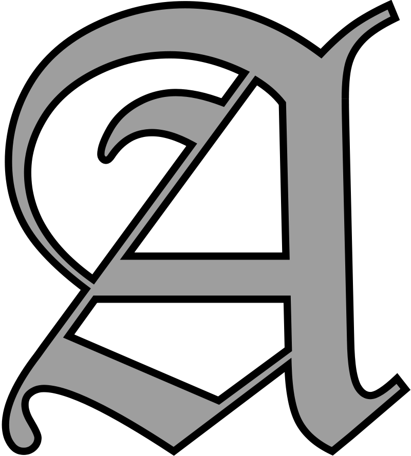 Calligraphy alphabet free old english letters