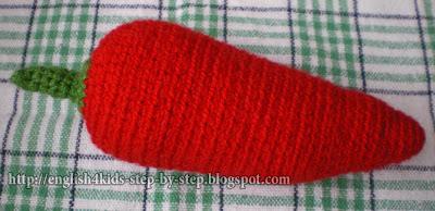 crochet pepper