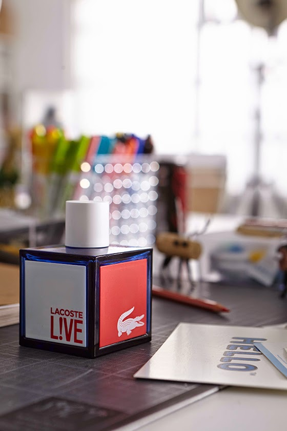 Lacoste Live New Fragance Colombia