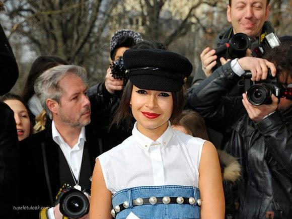 sombreros moda peinados 2014