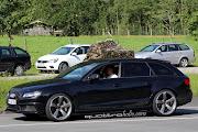 SpyShots: B8 Audi RS4 Avant testing in Austria