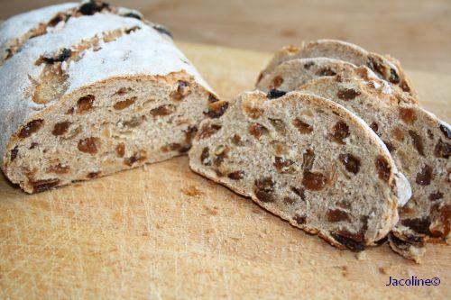 Spelt rozijnenbrood broodbakmachine