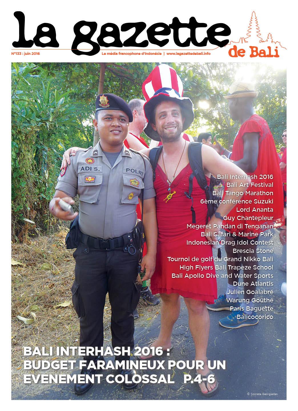 La Gazette de Bali juin 2016