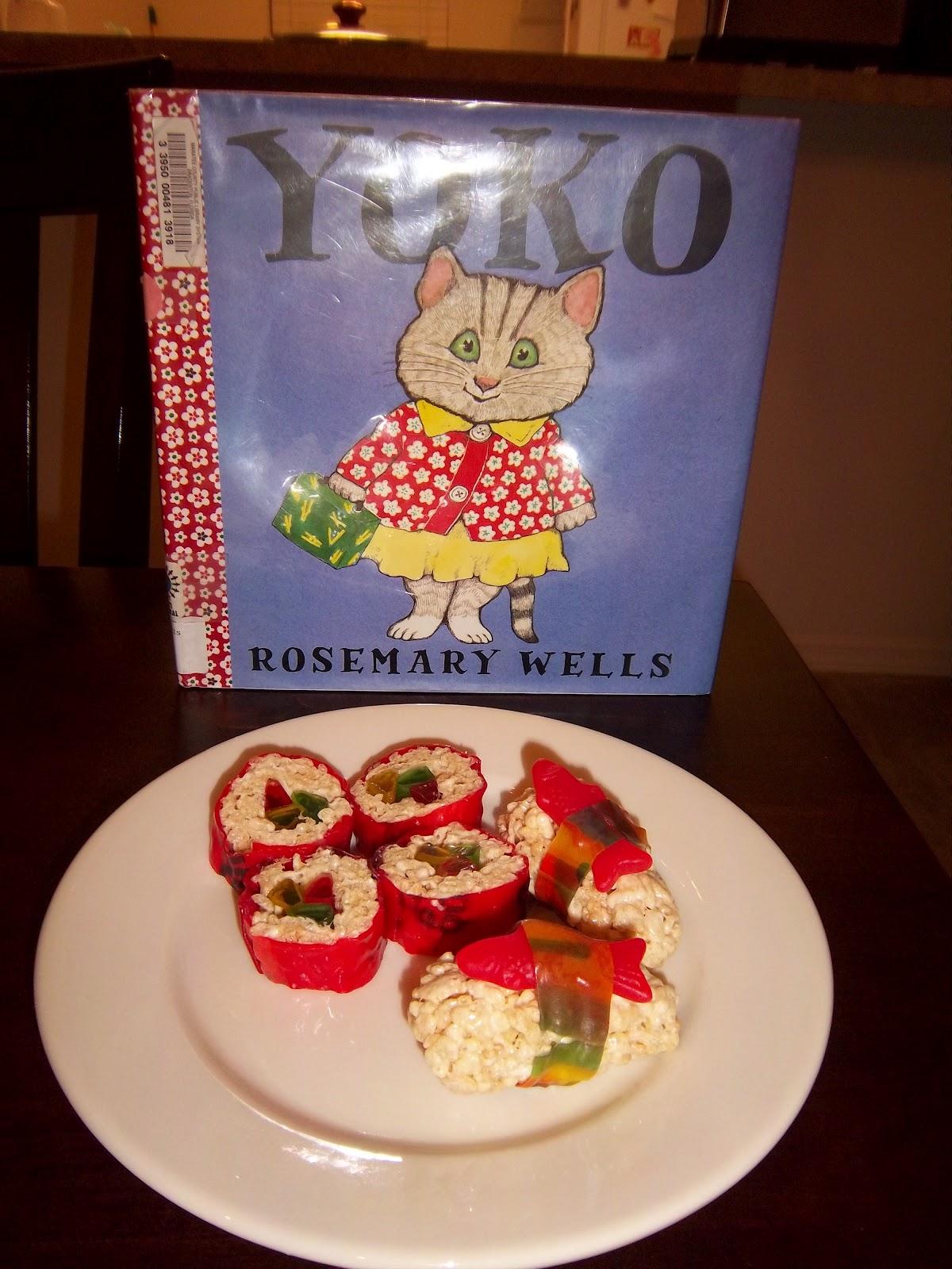 Kat Cooks The Books Yoko S Dessert Sushi