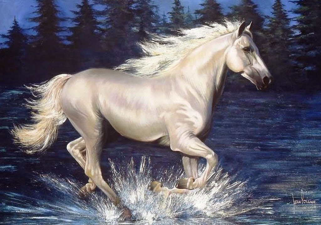 caballos-en-playas-pintados