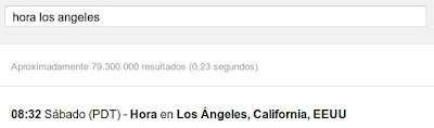 google-hora
