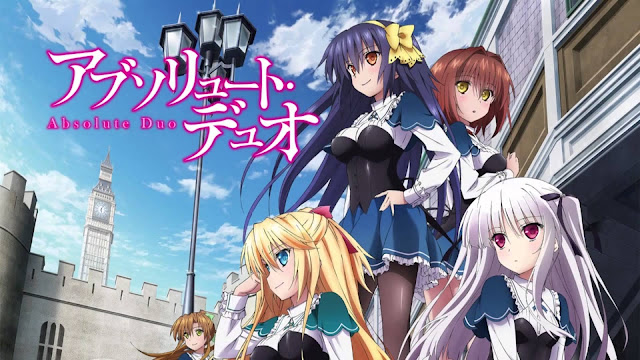 Anime Action Terbaik Absolute Duo