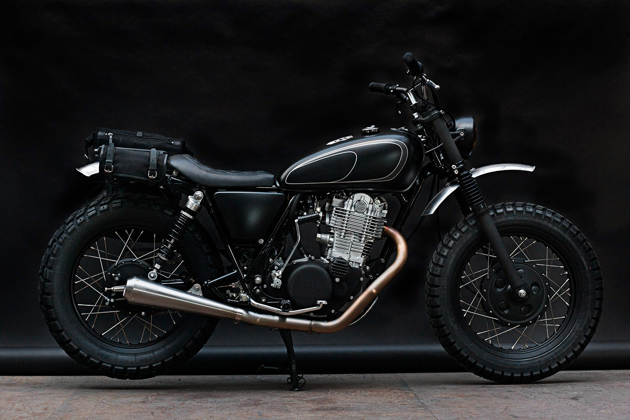 "Yamaha SR 400 ""GIBBONSLAP"" by Wrenchmonkees"